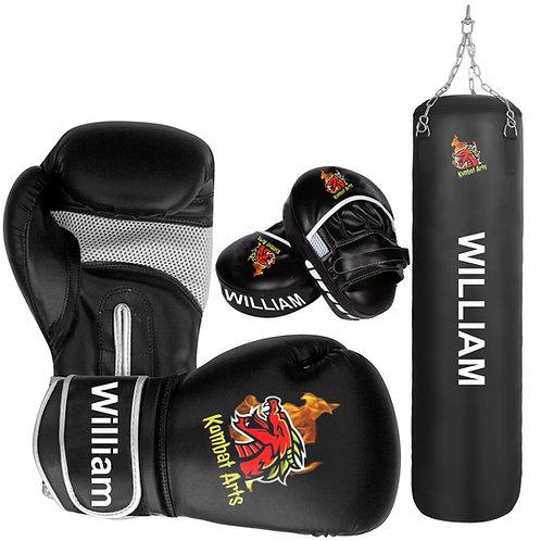 Custom Boxing Training Set, Boxing Gloves , Mitts and Punching Bag