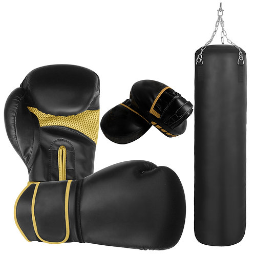 Simple Boxing Training Set, Boxing Gloves , Mitts and Punching Bag