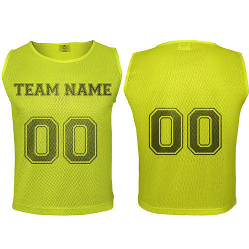 Custom DURAMESH Set of 12 - Scrimmage Vest/Pinnies/Team Practice Jerseys