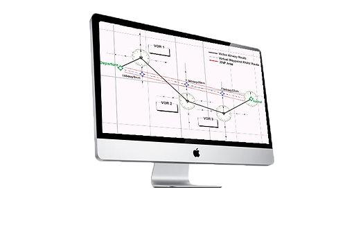 GNSS/RNAV-  Global Navigation /Area Navigation.