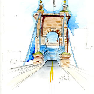 Roebling Bridge, Cincinnati