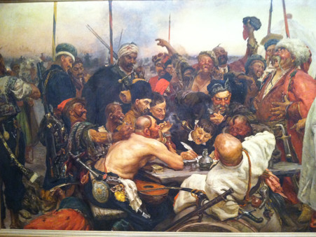 The Cossacks Reply to the Art Museum