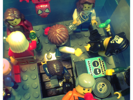 Life In a Lego Town: The Rave