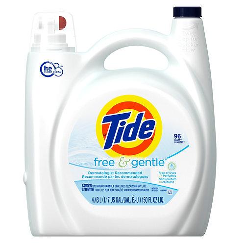 全新汰漬洗衣精無色香配方Tide Free HE