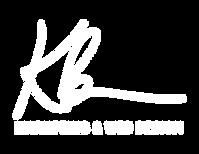 KB Marketing Web Design Sample Logo 2021 #2 White.png