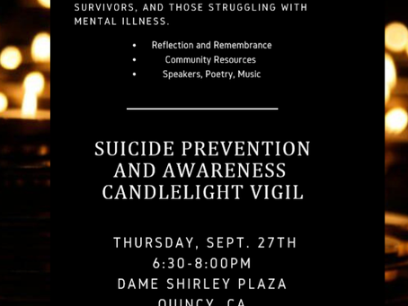 Candlelight Vigil for Suicide Awareness