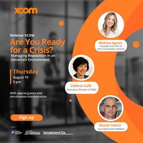 XCOM realiza un seminario web gratuito sobre gestión de la reputación en tiempos de crisis