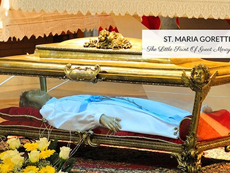 FOCUS ON THE SAINTS: St Maria Goretti. Feast Day 6th July