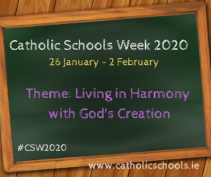 THIS WEEKS INTERVIEW  -'FAITHCAST' WITH MIRIAM MC CABE ON CATHOLIC SCHOOLS WEEK 2020