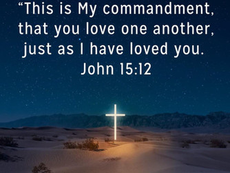 NEWSLETTER INSERT - 'LOVE ONE ANOTHER AS I HAVE LOVED YOU'