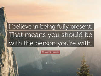 REAL PRESENCE - FULLY PRESENT
