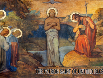 THE NATIVITY OF SAINT JOHN THE BAPTIST - 24TH JUNE 2021