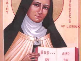 FEAST OF ST THERESE OF LISIEUX - PATRON SAINT OF THE MISSIONS AND 'THE HOOK OF FAITH' - 1ST OCTOBER