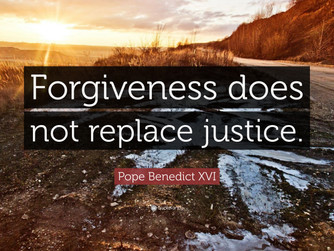 'WHAT FORGIVENESS IS NOT'