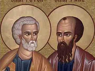 THE FEAST DAY OF SAINTS PETER AND PAUL - 29TH JUNE 2021