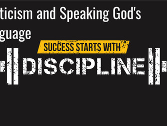 ASCETICISM AND SPEAKING GOD'S LANGUAGE - PODCAST FROM 'CALLED TO MORE'
