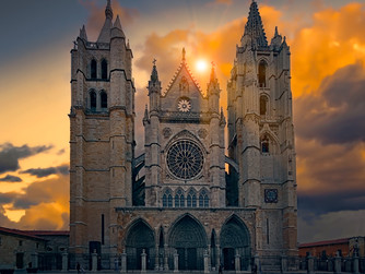 A POEM BY DERMOT O'BRIEN: LEON CATHEDRAL, SPAIN
