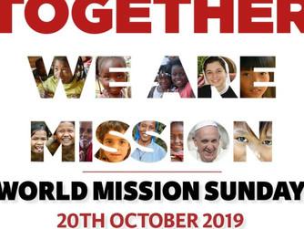 HOMILY FOR TWENTY-NINTH SUNDAY OF ORDINARY TIME – MISSION SUNDAY (C)