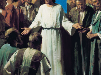 'JESUS SHOWED THEM HIS HANDS AND FEET'