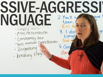 BEING PASSIVELY AGGRESIVE
