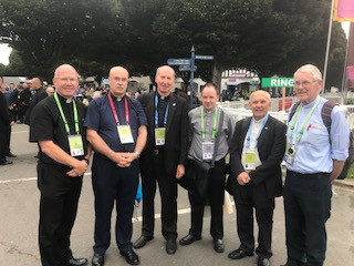 INTERVIEW WITH PEOPLE OF ST AIDAN'S PARISH ENNISCORTHY WHO TRAVELLED TO THE RDS, DUBLIN FOR THE