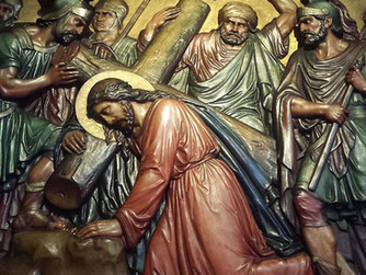 STATIONS OF THE CROSS WITH TROCAIRE