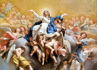 THE FEAST OF MARY'S ASSUMPTION - SATURDAY 15TH AUGUST