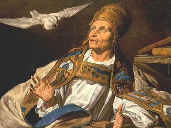 FEAST OF ST GREGORY THE GREAT: MONDAY 3RD SEPT.