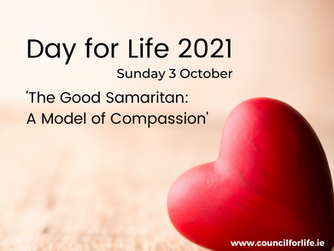 DAY FOR LIFE - SUNDAY 3RD OCTOBER 2021