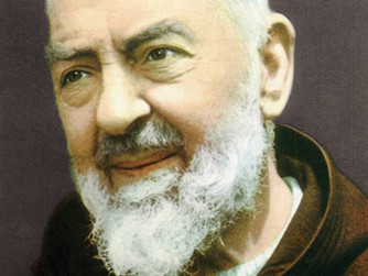 THE FEAST DAY OF ST PIO - 23RD SEPTEMBER 2021