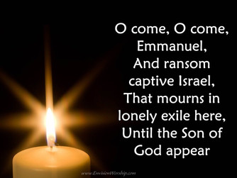 THE SECOND HALF OF ADVENT