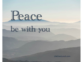 'PEACE BE WITH YOU'
