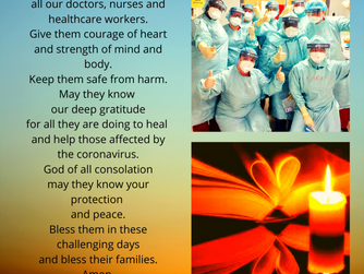 PRAYER CARD FOR HEALTH-CARE WORKERS