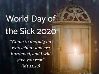 THE 28TH WORLD DAY OF THE SICK