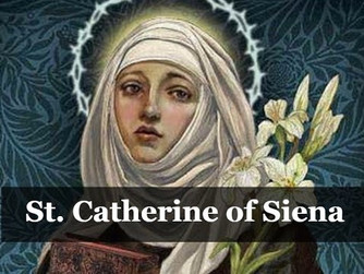 QUOTES AND PRAYERS FROM ST. CATHERINE OF SIENA