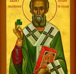 Patron Saints of The Hook of Faith - St Patrick