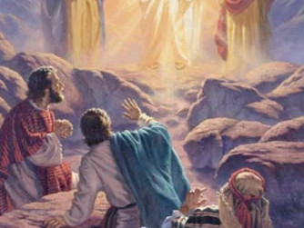 NEWSLETTER INSERT - ON THE MYSTERY OF THE TRANSFIGURATION