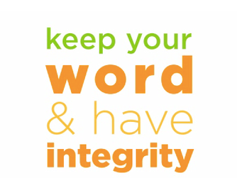 NEWSLETTER INSERT - ON KEEPING OUR WORD