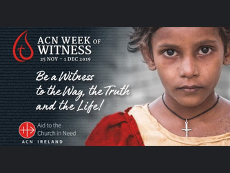 'WEEK OF WITNESS - 25TH NOVEMBER TO 1ST DECEMBER 2019