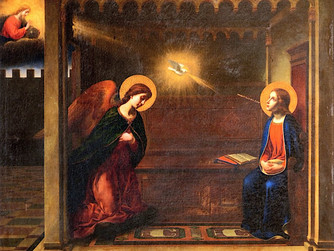 THE FEAST OF THE ANNUNCIATION - GIVING OUR 'YES' WITH MARY