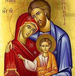 NEWSLETTER INSERT - ON THE HOLY FAMILY