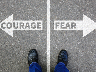 'COURAGE, BE NOT AFRAID!'