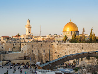 REFLECTIONS ON A VISIT TO THE HOLY LAND: Part 1 - From Jericho to Jerusalem