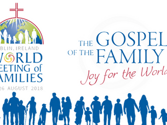 THE WORLD MEETING OF FAMILIES AND THE VISIT OF POPE FRANCIS – ONE YEAR ON.