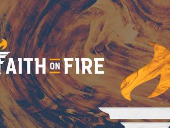 'FAITH ON FIRE' - A NEW INITIATIVE FOR ADULT FAITH DEVELOPMENT