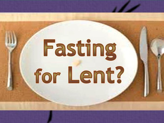THIS WEEK'S INTERVIEW ON FASTING WITH FR BILLY SWAN