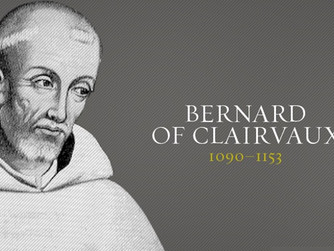 SAINT BERNARD OF CLAIRVAUX (1090-1153). FEAST DAY MONDAY 20TH AUGUST