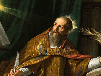 FOCUS ON THE SAINTS: ST AUGUSTINE (354-430). FEAST DAY 28TH AUGUST