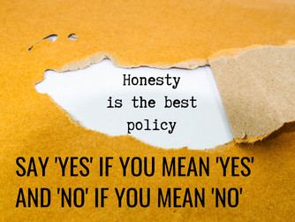 SAY 'YES' IF YOU MEAN 'YES' AND 'NO' IF YOU MEAN 'NO'