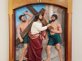 STATIONS OF THE CROSS - II Jesus Receives his Cross